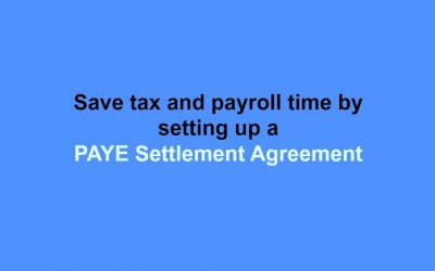PAYE Settlement Agreements