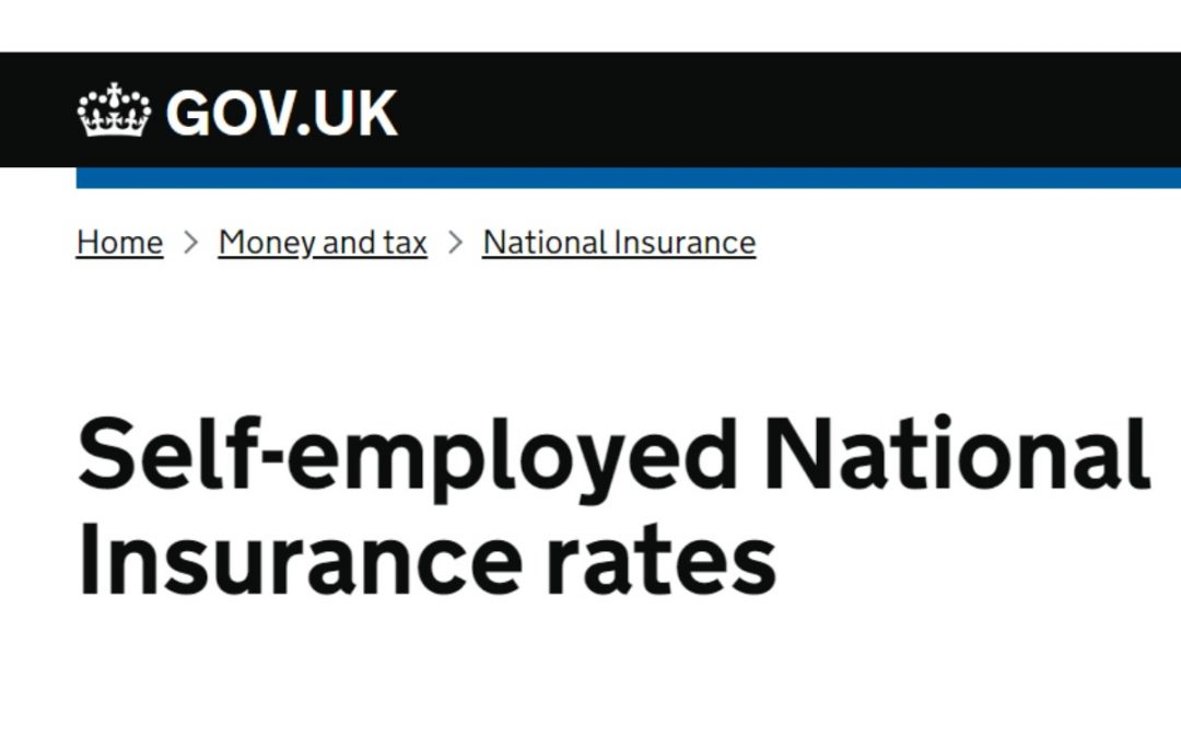 How do Class 4 National Insurance contributions work?