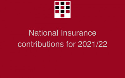 National Insurance contributions for 2021/22