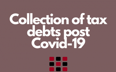 Collection of tax debts post Covid-19